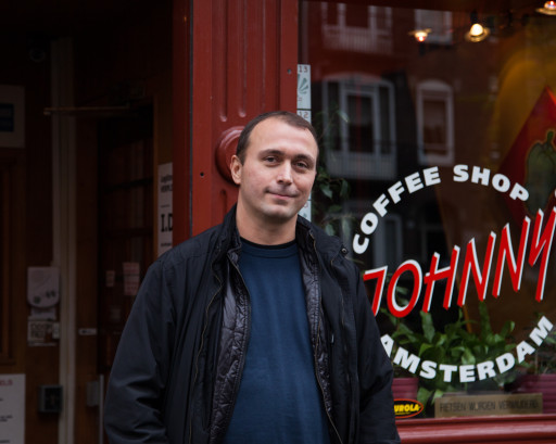 Elandsgracht-Coffeeshop Johnny